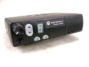 Motorola Cm200 Uhf 40w Mobile Radio W new Accessories