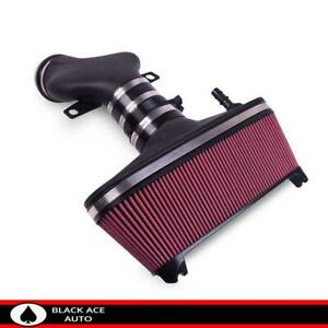 Airaid Mxp Black Cold Air Intake Red Oiled Filter For Chevy Corvette 5 7l 01 04