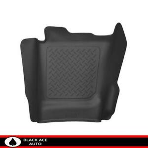 Husky X act Contour Center Hump Floor Mat Black For Gm Truck 2014 18 Ec cc