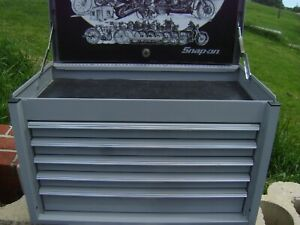 Snap On Harley Davidson 100th Anniversary Tool Storage Top Chest Kra4055pif