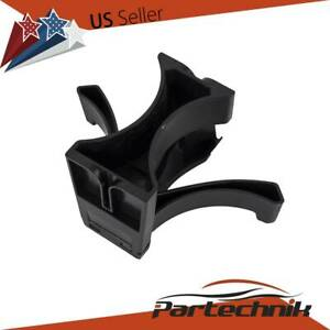 Center Console Cup Holder Insert Divider For Toyota Tacoma 2005 2015 Black
