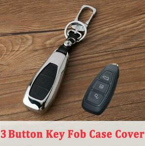 For Ford Focus Kuga Ecosport Mondeo Car Key Case Cover Fob Holder Accessories