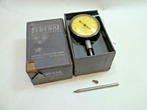 Federal Products Machinist C2i 0001 070 Range Dial Indicator Made In Usa
