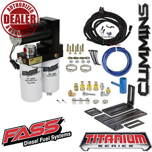 Fass 165gph Diesel Fuel Lift Pump System For 2005 2018 Ram 2500 3500 Cummins