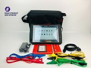 nice Ultimate Snap On Zeus Diagnostic Scan Tool W 18 4 Version Case Cables