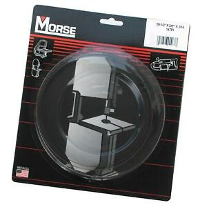 Mk Morse Zcdc14 14tpi Woodworking Stationary Bandsaw Blade 59 1 2 inch By