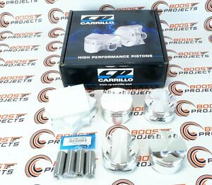 Cp Carrillo Pistons 81mm Bore 10 1 Cr For 97 01 Acura Integra Type R B18c5 Vtec