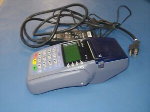 Verifone Omni 3730 V510 Credit Card Terminal Swipe With Cords