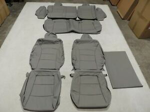 Leather Seat Covers Interior Replacement Fits Chevrolet Cruze 2012 2015 Grey X7