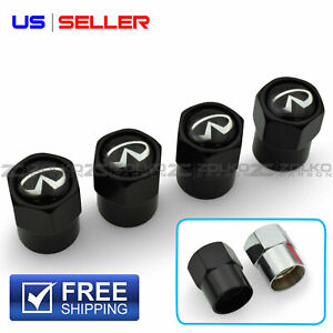 Valve Stem Caps Wheel Tire 4pc 2 Color Option Us Seller