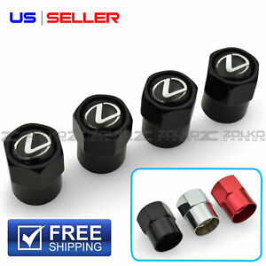 Valve Stem Caps Wheel Tire For Lexus 4pc 3 Color Option Us Seller