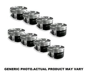 Manley 43cc Hollow Dome Pistons 4 560 Bore For Chevrolet Big Block 697660 8