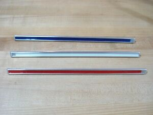 New Set Reproduction 1965 Plymouth Fury Fender Ornaments Bars 3 Nice