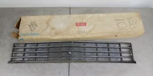 Nos Gm 1981 81 Chevy Citation Grille Grill Chrome 14021407