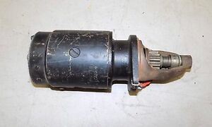 Reman Forklift Tractor Starter Delco Remy 1107237