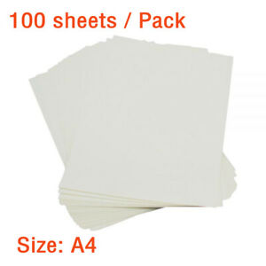 100 Sheets Pack A4 Dark Color T shirt Heat Inkjet Transfer Paper