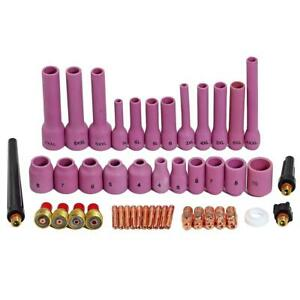 Tig Gas Lens Collet Body Assorted Size Kit Fit Sr Wp 9 20 25 Tig Welding Torch