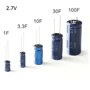 Farad Capacitors 2 7v 1f 3 3f 10f 30f 100f Super Capacitors Hp 2r7 Pcb