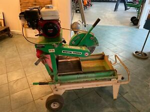 Edco 14 Masonry brick Concrete Saw 5 5 Hp Honda Model Bb14g 5 5h
