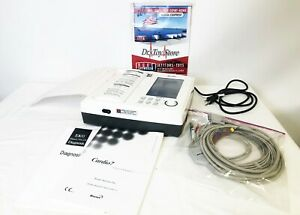 Bionet Cardio 7 Electrocardiogram Ecg Ekg With Cables And Manual