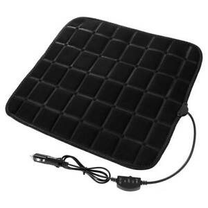 Universal Car Seat Cushion Cover Pad Heater Warmer Heated Adjustable 12v Warmer