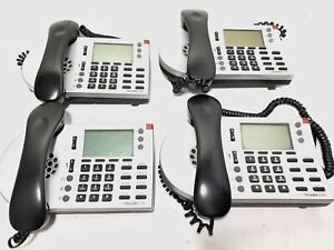 Lot Of 4 Shoretel 230 Ip Phone Silver Ip 230g 10 Business Office Phones