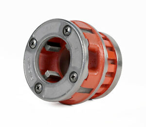 Reconditioned Ridgid 37410 Die Head 1 1 2 Npt Alloy Rh For 12 r