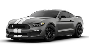 2019 Ford Mustang Shelby Cobra Gt350 Garage Metal Sign 23x10 Magnetic Gray White