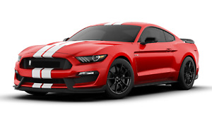2019 Ford Mustang Shelby Cobra Gt350 Cutout Metal Sign 23x10 Race Red White