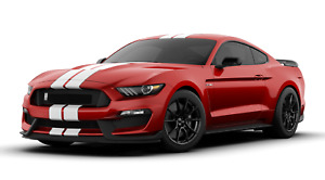 2019 Ford Mustang Shelby Cobra Gt350 Garage Metal Sign 23 x10 Ruby Red White