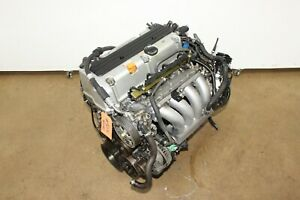Honda Accord Element 03 04 05 06 07 2 4l Dohc 4 cylinder I vtec Engine Jdm K24a