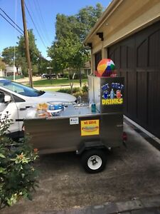 American Dreams Hot Dog Cart Used big Dog Cart Excellent Condition