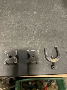 Starrett No 271c V Blocks Matched Pair With Clamp