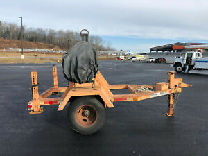 1999 Sherman Reilly Single Axle Reel Trailer Tensioning Brake