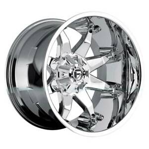 4 new 20 Fuel D508 Octane Wheels 20x9 5x5 5 5x150 20 Chrome Rims