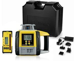 Geomax Zone60 Hg Semiautomatic Dual Grade Laser Level W Zrd105 Digital Receiver