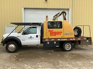 2006 Ford F 550 4x4 Tiger Railkut Boom Mower