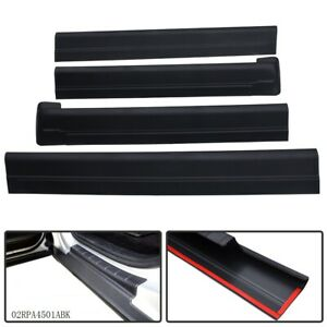Rocker Panel Protector Guard Cover Trim For 01 06 Silverado Gmc Sierra Crew Cab
