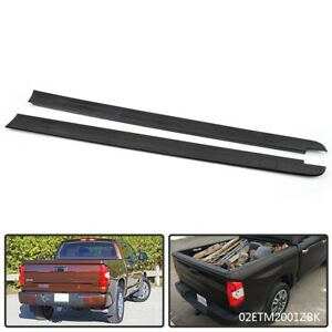 662480c090 Short Bed Rail Caps Panel Top Protector For Toyota Tundra 2014 2018