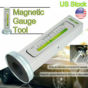 Adjustable Magnetic Gauge Tool Camber Castor Strut Wheel Alignment Truck Car Us