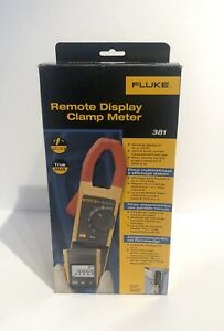 Fluke 381 New Ac dc Remote Display True Rms Clamp Meter With Iflex Probe