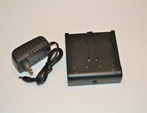 Trimble Dual 54344 Battery Charger 5700 5800 R8 R7 Tsc1 Gps Gnss Bc 30d