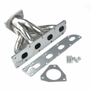 Stainless Steel Header For 05 10 Cobalt hhr Non turbo Exhaust manifold 2 2l 2 4l