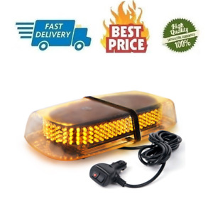 Xprite 240 Amber Light Led Roof Top Bar Hazard Beacon Caution Warning Snow Plow