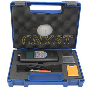 Digital Paint Coating Thickness Gauge Meter With F nf Probe Tester