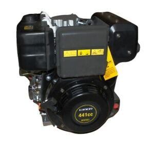 Loncin 9 Hp Diesel Engine Single Cylinder 4 stroke Air Cooled Direct Injection