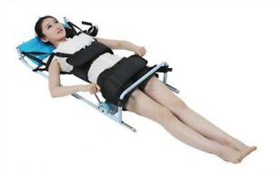 Cervical Spine Lumbar Traction Bed Therapy Massage Body Stretching Device New Kr