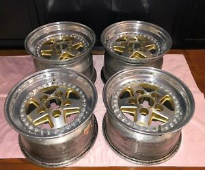 Gotti J55a 3pc 15 Turbo Wide Body Wheels Rims 9x15 11x15 Porsche 911 930