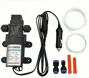 Automobile Engine Self Priming Electric Oil Pump High Pressure 12v New