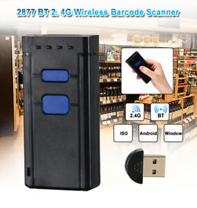 Wireless Bluetooth Barcode Scanner Laser Mini Portable Barcode Reader Scanner Us